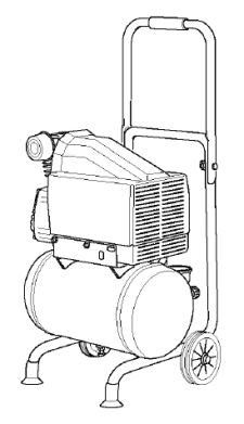 77813, LFI23DVA Portable Oil-Free Air Compressor Manual