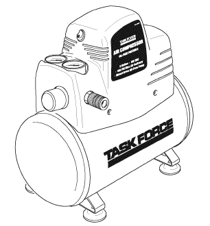 83691, LFD2H Portable Oil-Free Air Compressor Manual- Need