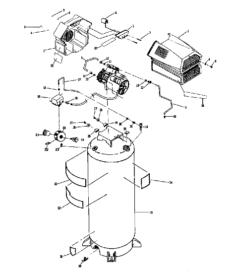 919.152813 Oil-Free Air Compressor Manual- Need An Owners