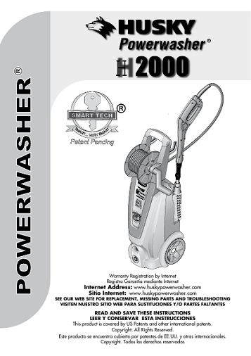 Husky H2000 2000s Need An Owners Manual