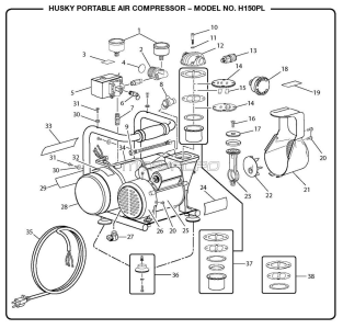 H150PL Portable Air Compressor Manual- Need An Owners Manual