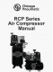 Chicago Pneumatic RCP Air Compressor Manual